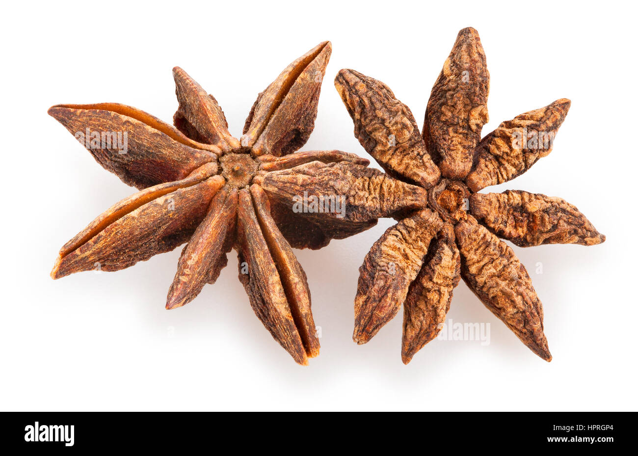 star anise isolated - Stock Image