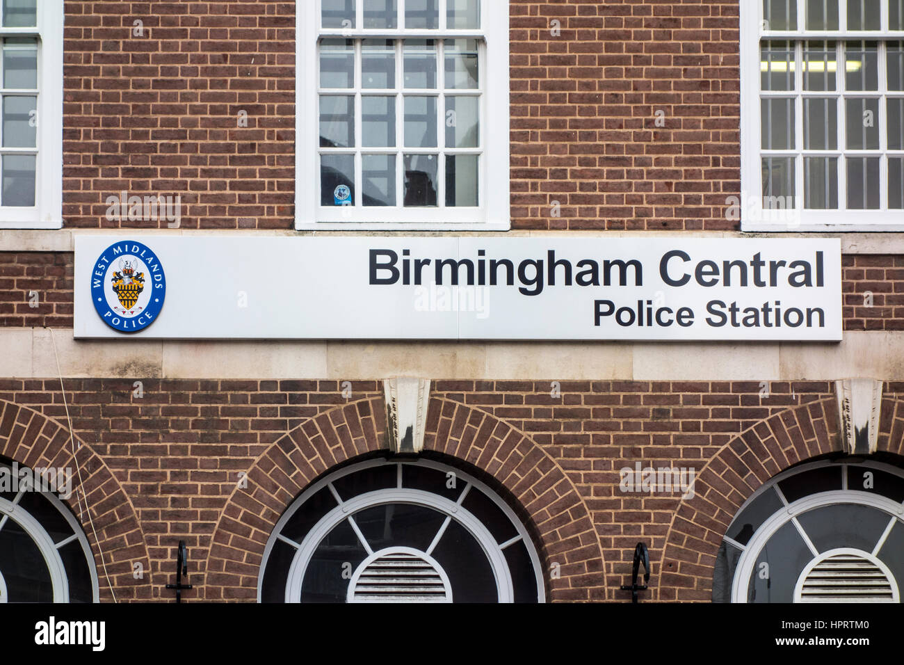 Birmingham Central Police Station, Birmingham, UK - Stock Image