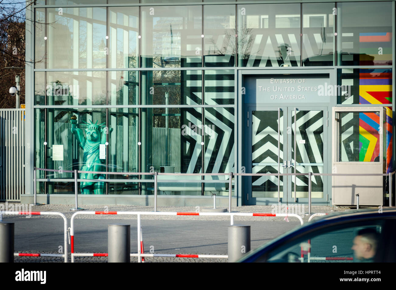 Embassy of the United States of America, Berlin, Germany - Stock Image