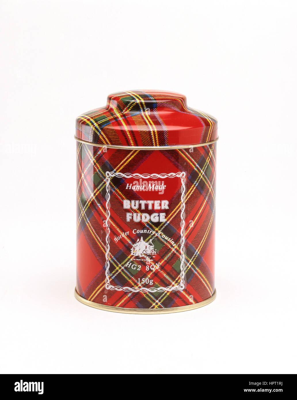 Hand made Scottish butter fudge, Inverness, Scottish Highlands, Scotland, United Kingdom Stock Photo