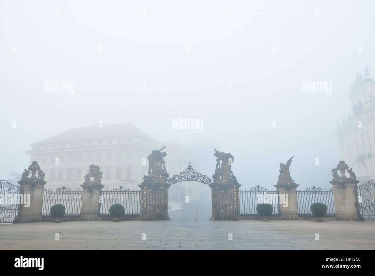 Prague Castle, Czech Republic - Stock Image