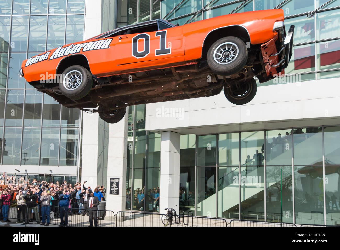 Detroit, USA. 24th Feb, 2017. The General Lee car, a Dodge ...  The Dukes Of Hazzard 2017 Car
