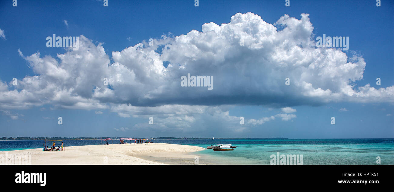 Tanzania, Zanzibar, Unguja, Niamembe Island - Stock Image