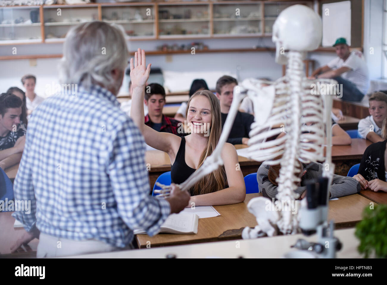 Class Room For Anatomy Stock Photos & Class Room For Anatomy Stock ...