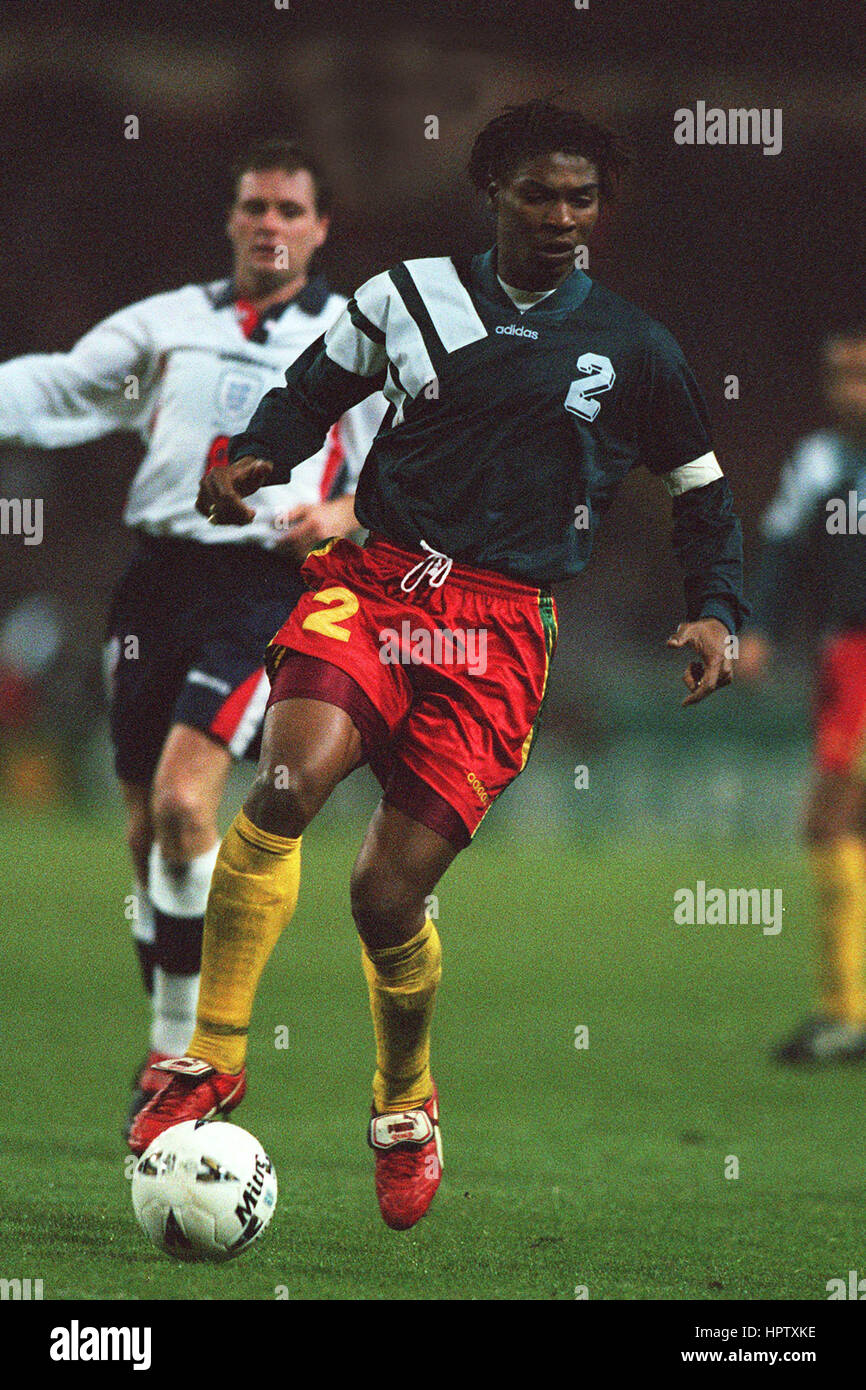 RIGOBERT SONG CAMEROON 01 January 1998 - Stock Image