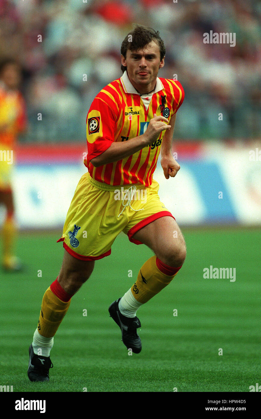 LUBOMIR MORAVCIK MSV DUISBURG 27 August 1998 - Stock Image