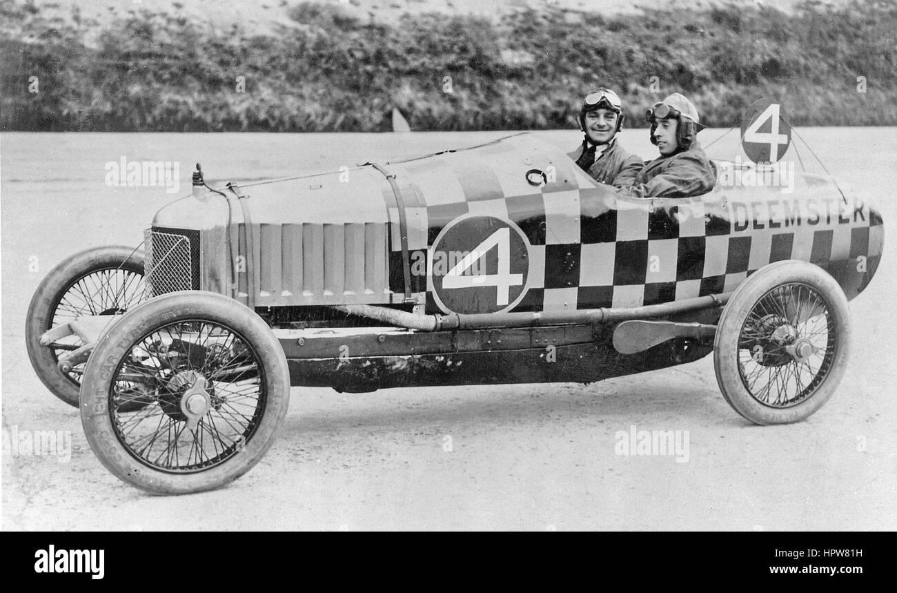 1921 Deemster 200 mile race - Stock Image
