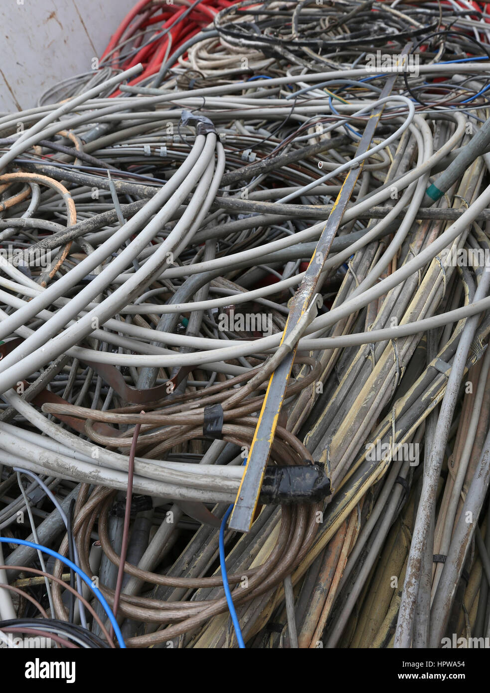 Recycling Wire Cables Stock Photos & Recycling Wire Cables Stock ...