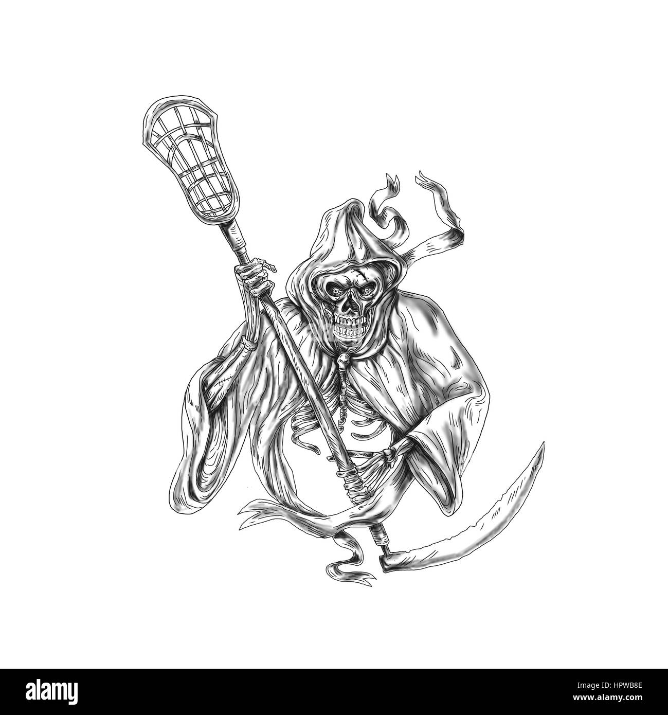Lacrosse Stick Cut Out Stock Images & Pictures - Alamy