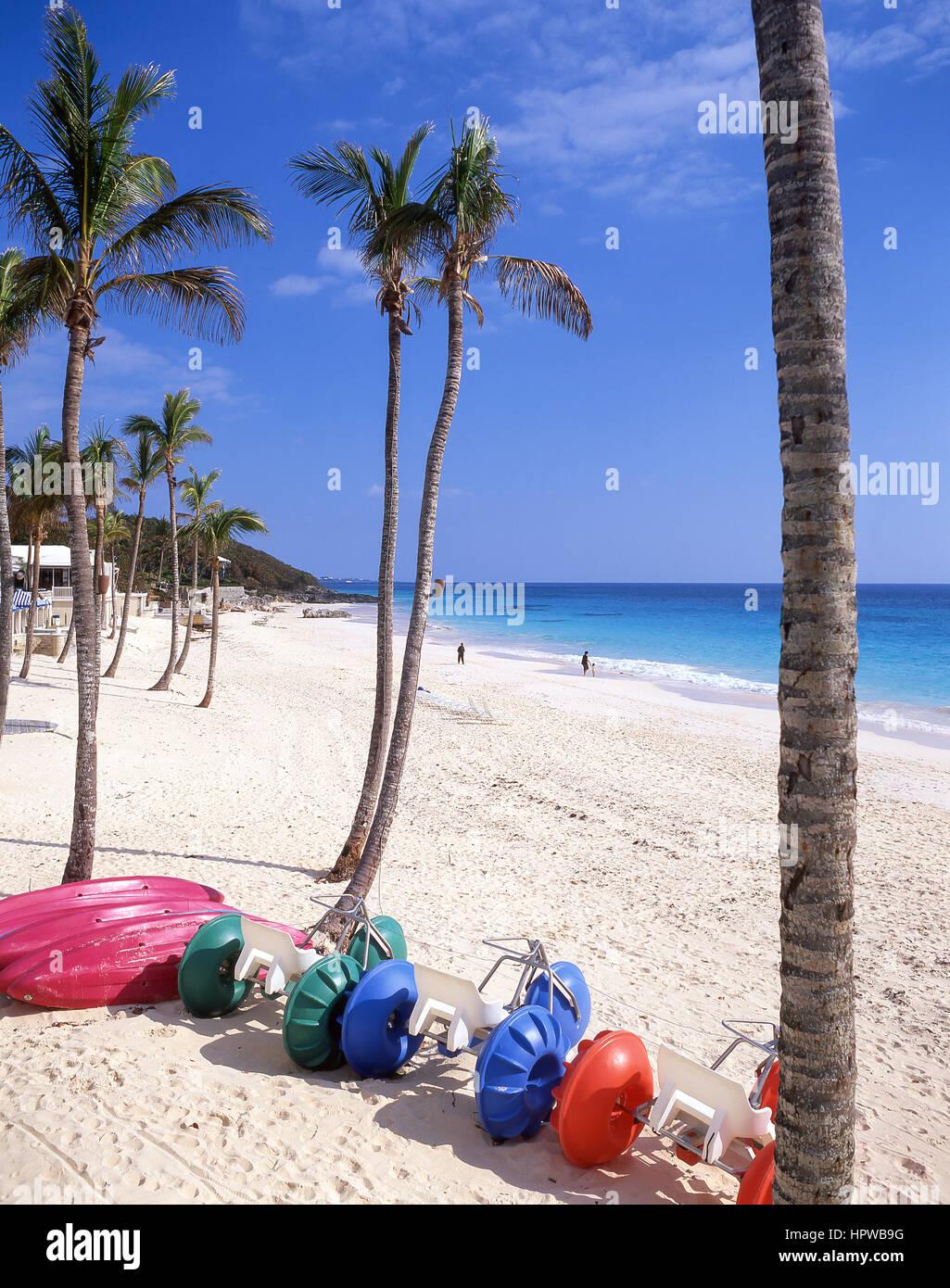 Elbow Beach, Paget Parish, Bermuda - Stock Image