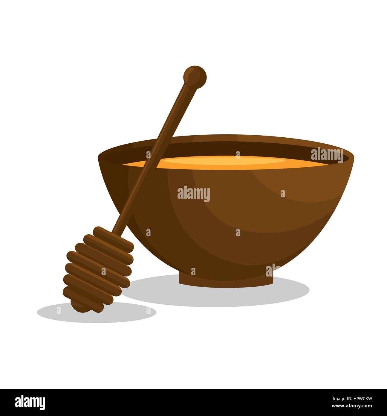 honey spa therapy icon - Stock Image