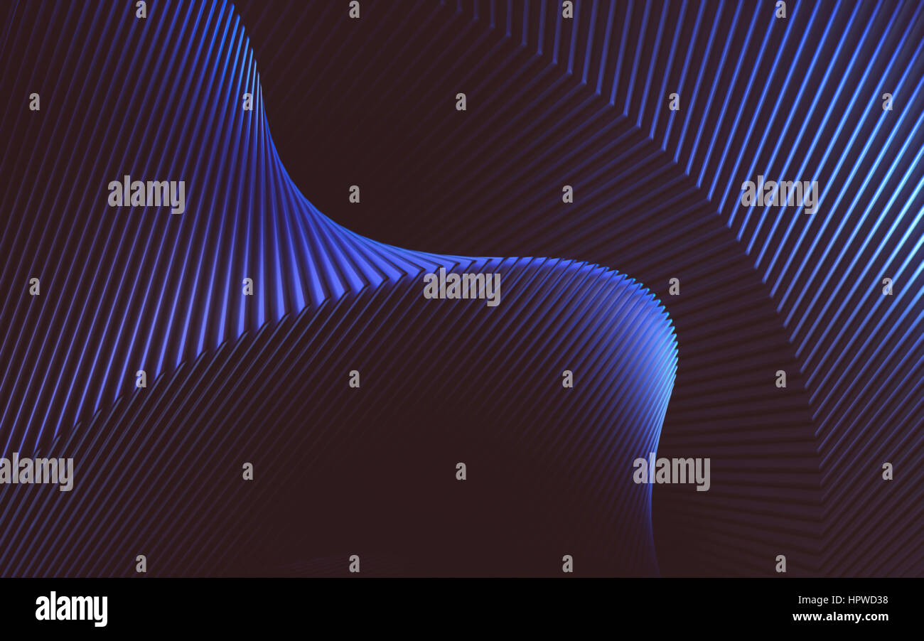 Graphic three dimensional illustration. - Stock Image