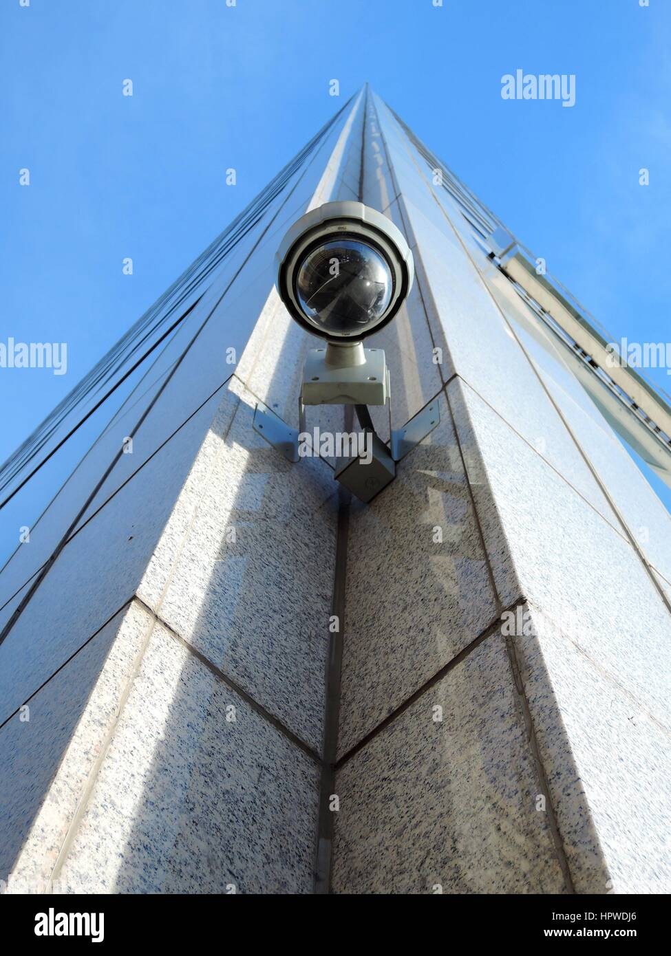 Dome Surveillance Security Cameras - Stock Image