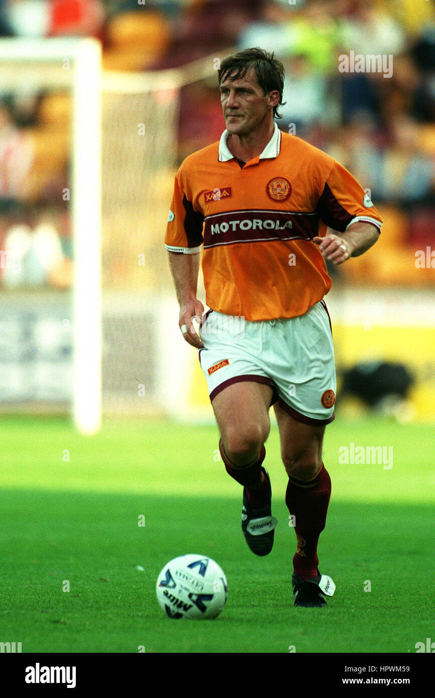 SHAUN TEALE MOTHERWELL FC 01 September 1998 - Stock Image