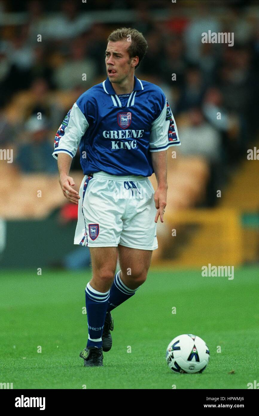 JAMIE CLAPHAM IPSWICH TOWN FC 02 September 1998 Stock Photo
