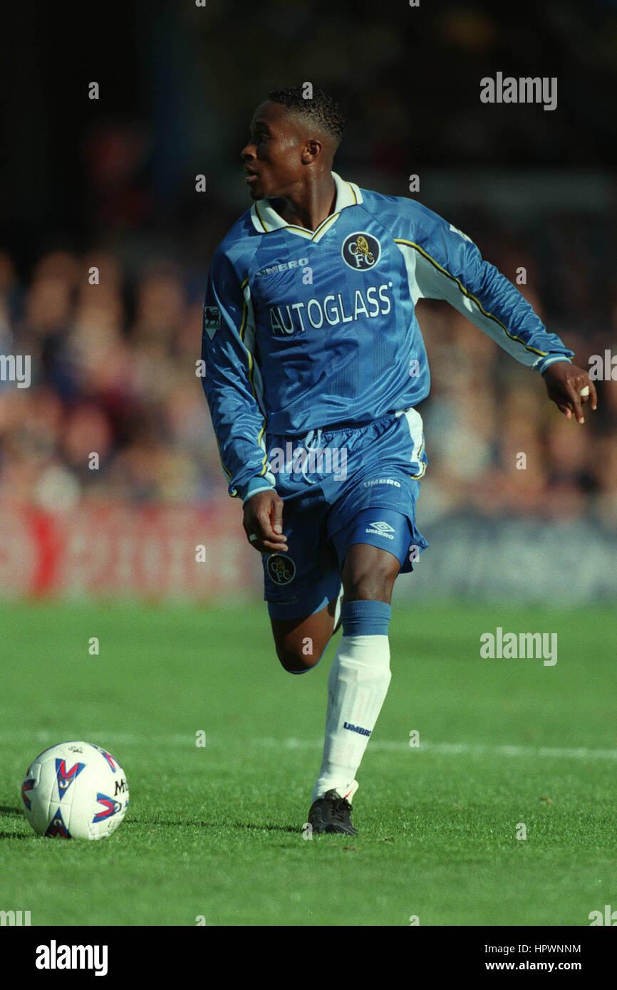 CELESTINE BABAYARO CHELSEA FC 06 September 1998 - Stock Image