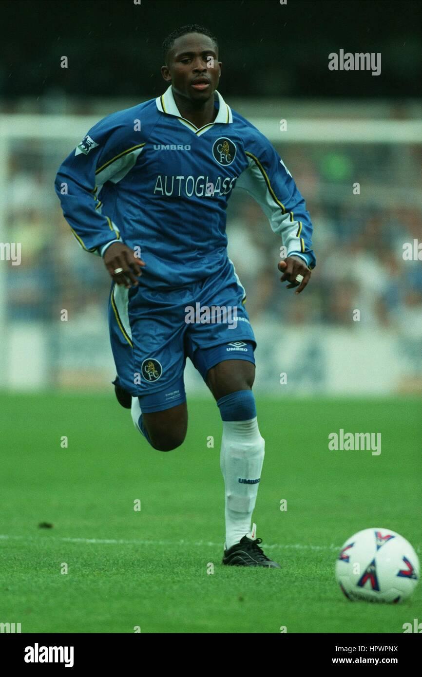 CELESTINE BABAYARO CHELSEA FC 27 September 1998 - Stock Image