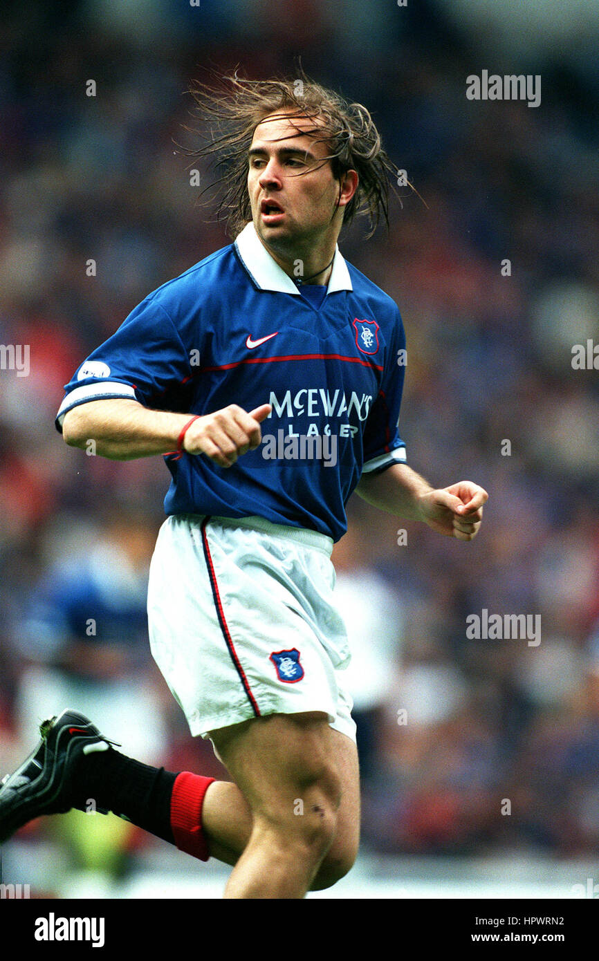 SEBASTIAN ROZENTAL GLASGOW RANGERS FC 05 October 1998 - Stock Image