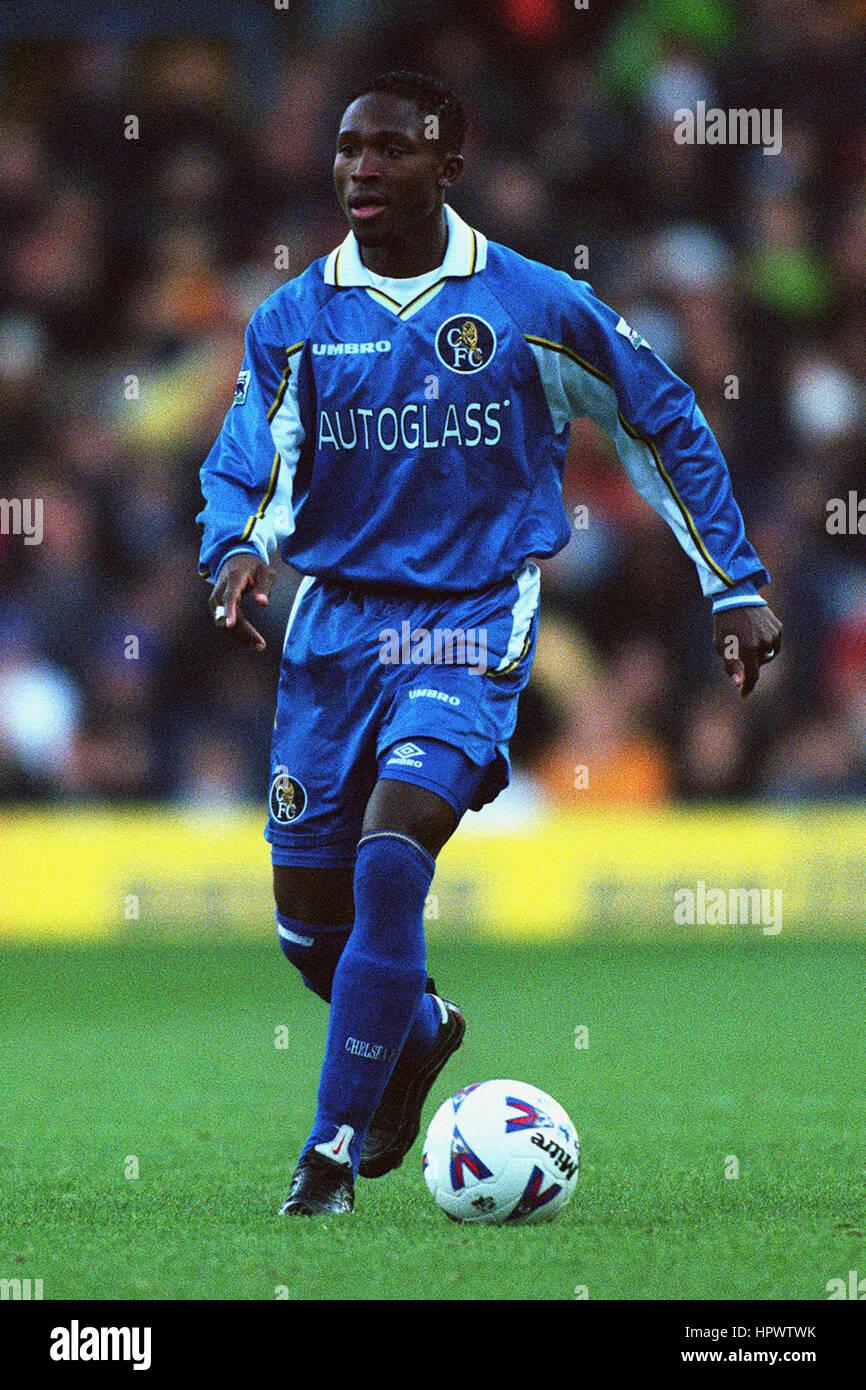 CELESTINE BABAYARO CHELSEA FC 25 October 1998 - Stock Image