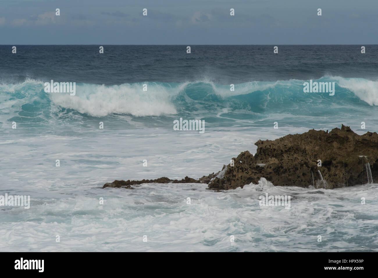 North Shore, Oahu, Hawaii - Stock Image