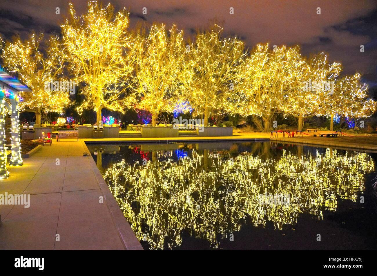 Christmas Light Display Stock Photos & Christmas Light Display Stock ...