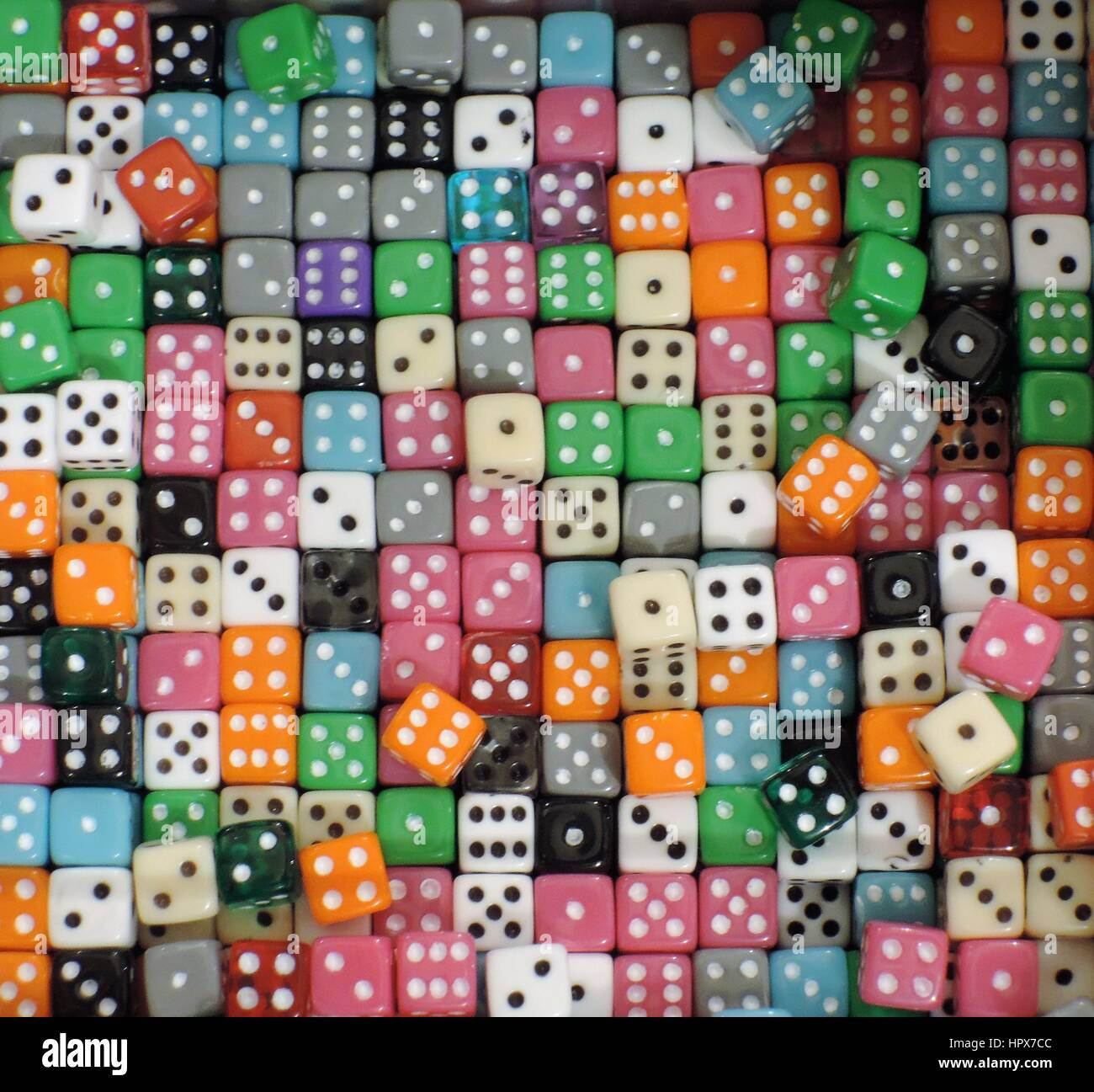 Traditional Dice - Stock Image