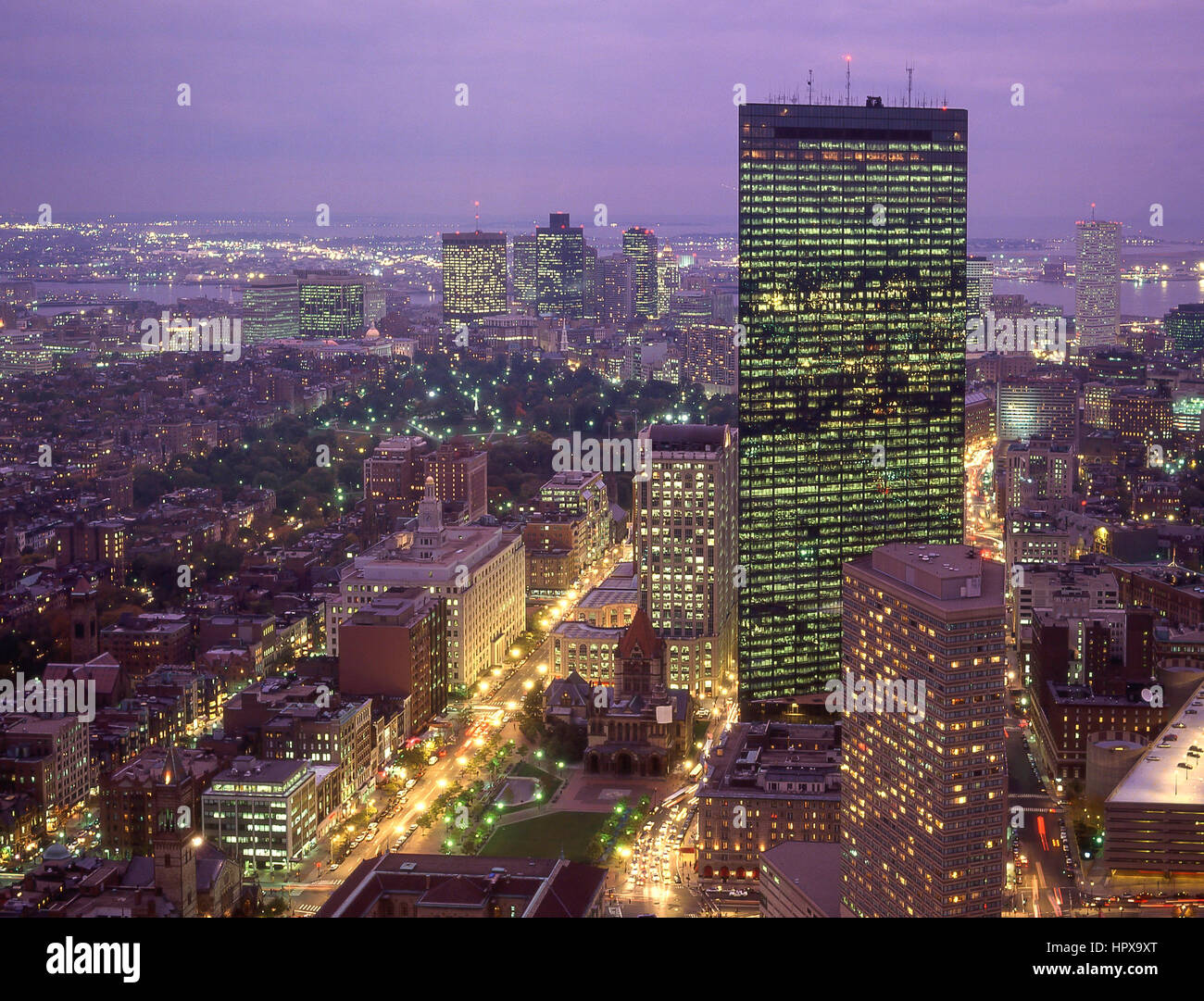 Rooms: Downtown City View At Dusk, Boston, Massachusetts, United