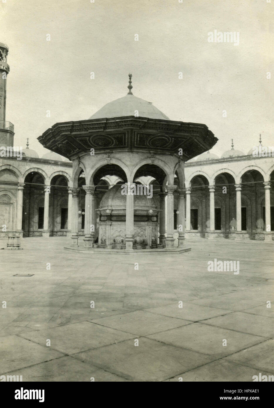 Fountain of the ablutions, Mosque of Muhammad Ali, Cairo, Egypt - Stock Image