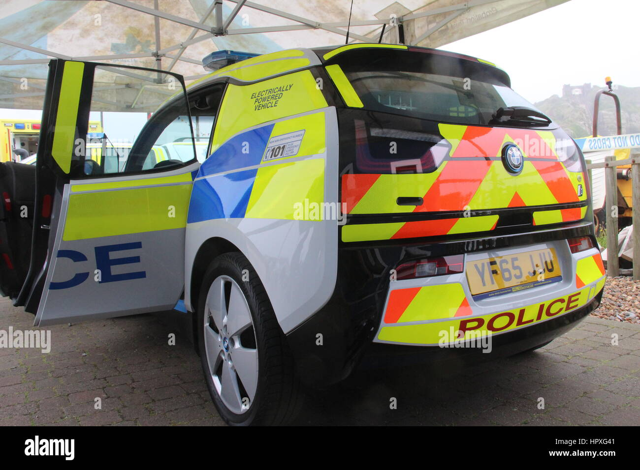 Bmw I3 Electric Police Car Demonstrator With Sussex Police Stock