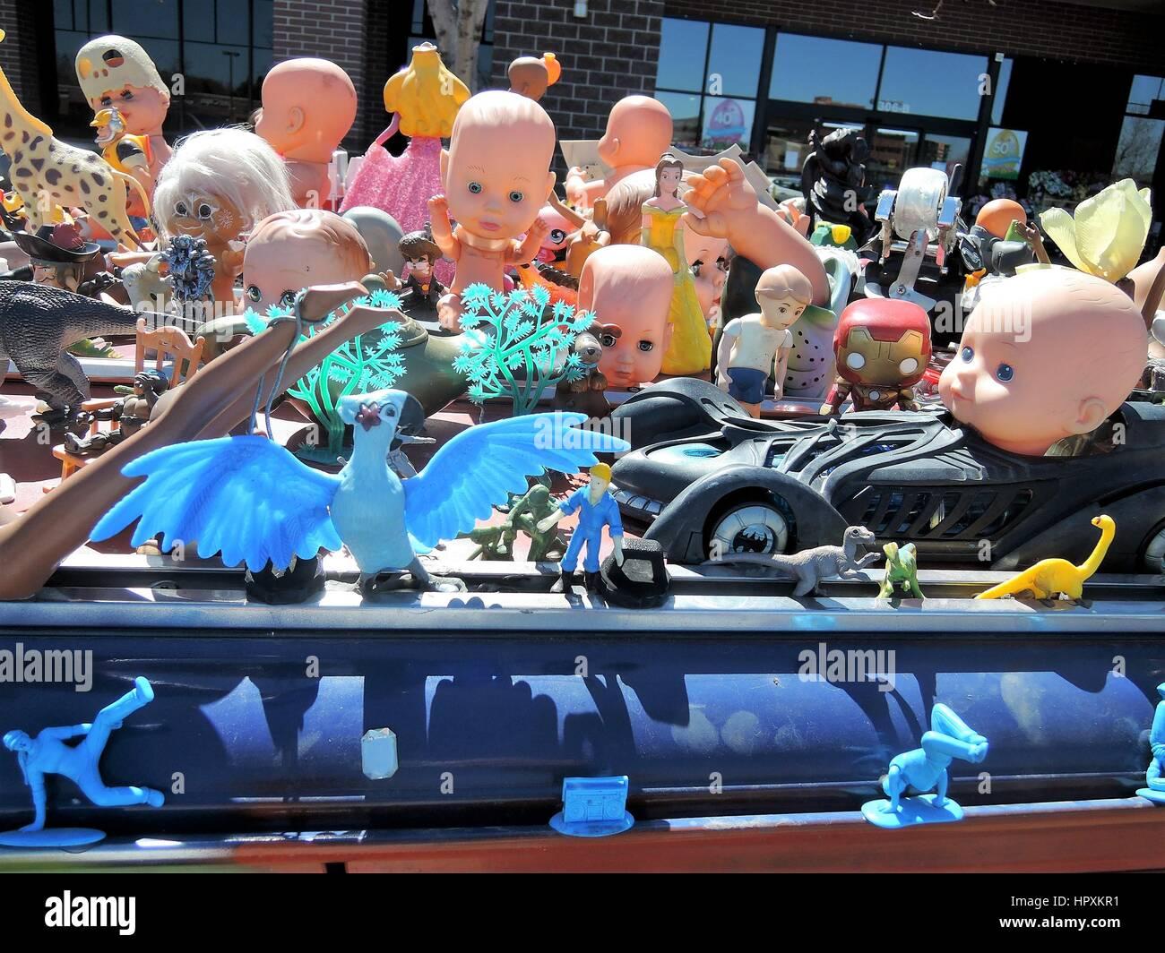 Weird Car Decorations - Stock Image