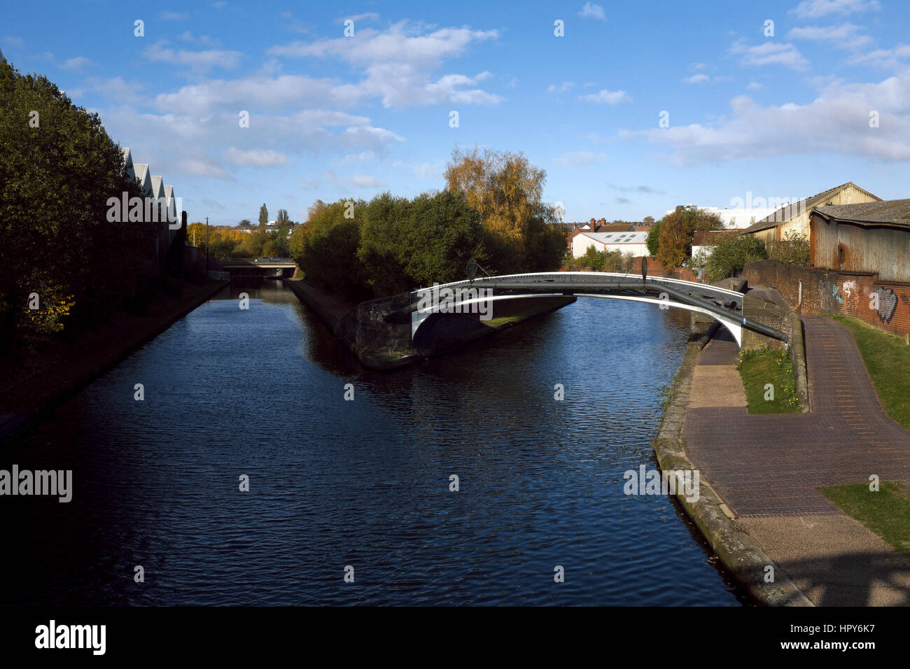 Smethwick Junction, Birmingham Canal Navigations, Smethwick, West Midlands, England, UK - Stock Image