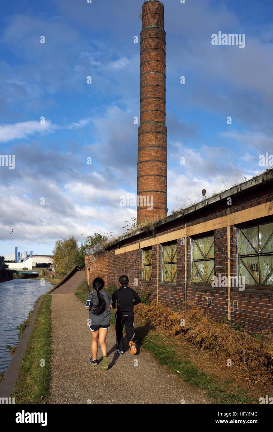Birmingham Canal Navigations New Main Line, Smethwick, West Midlands, England, UK - Stock Image