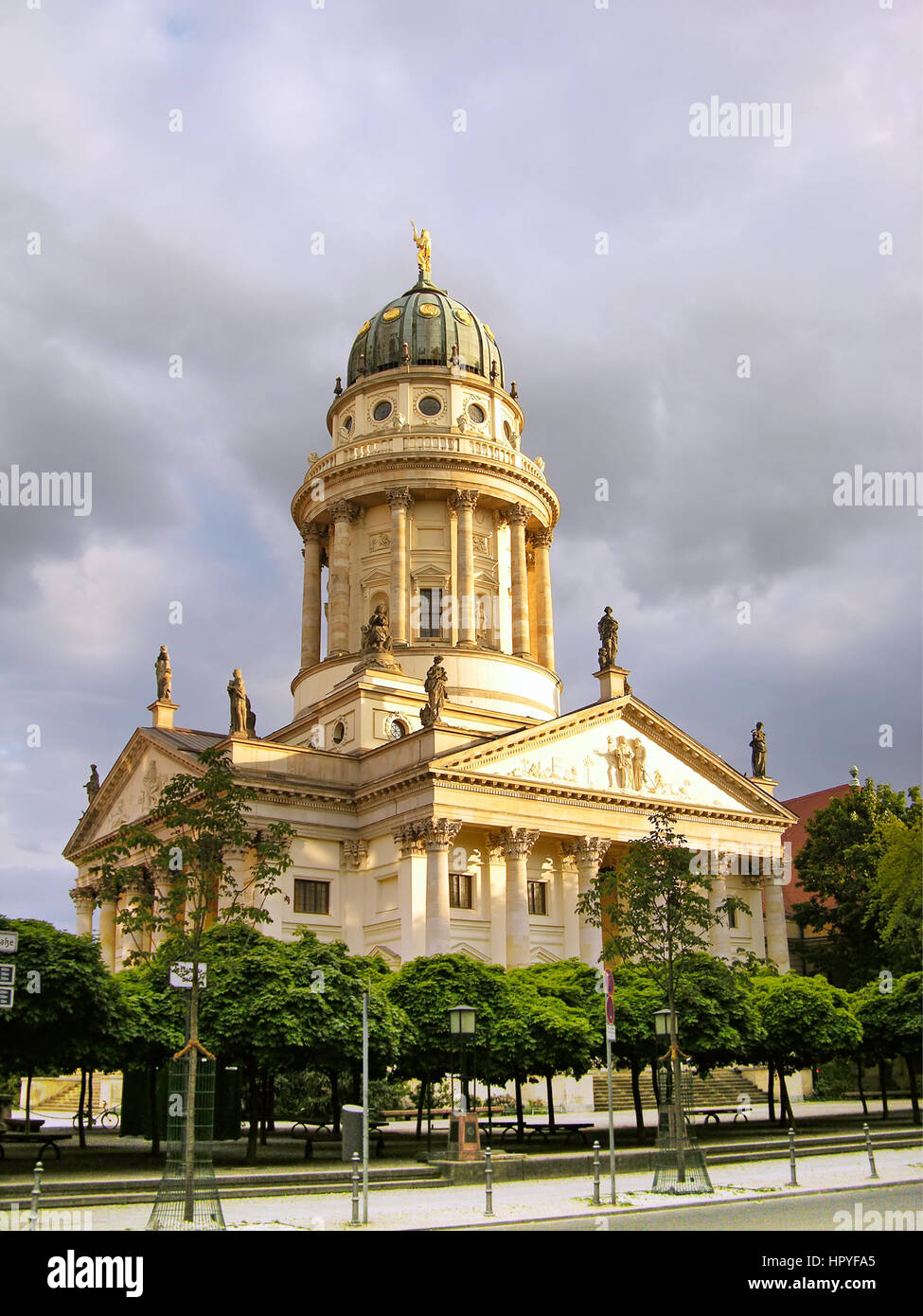 French Cathedral (Franzoesischer Dom), Berlin, Germany Stock Photo