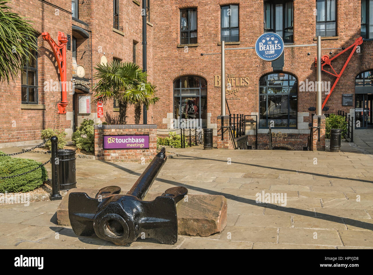 The Beatles Story is a unique visitor attraction located within Liverpool's historic Albert Dock. - Stock Image