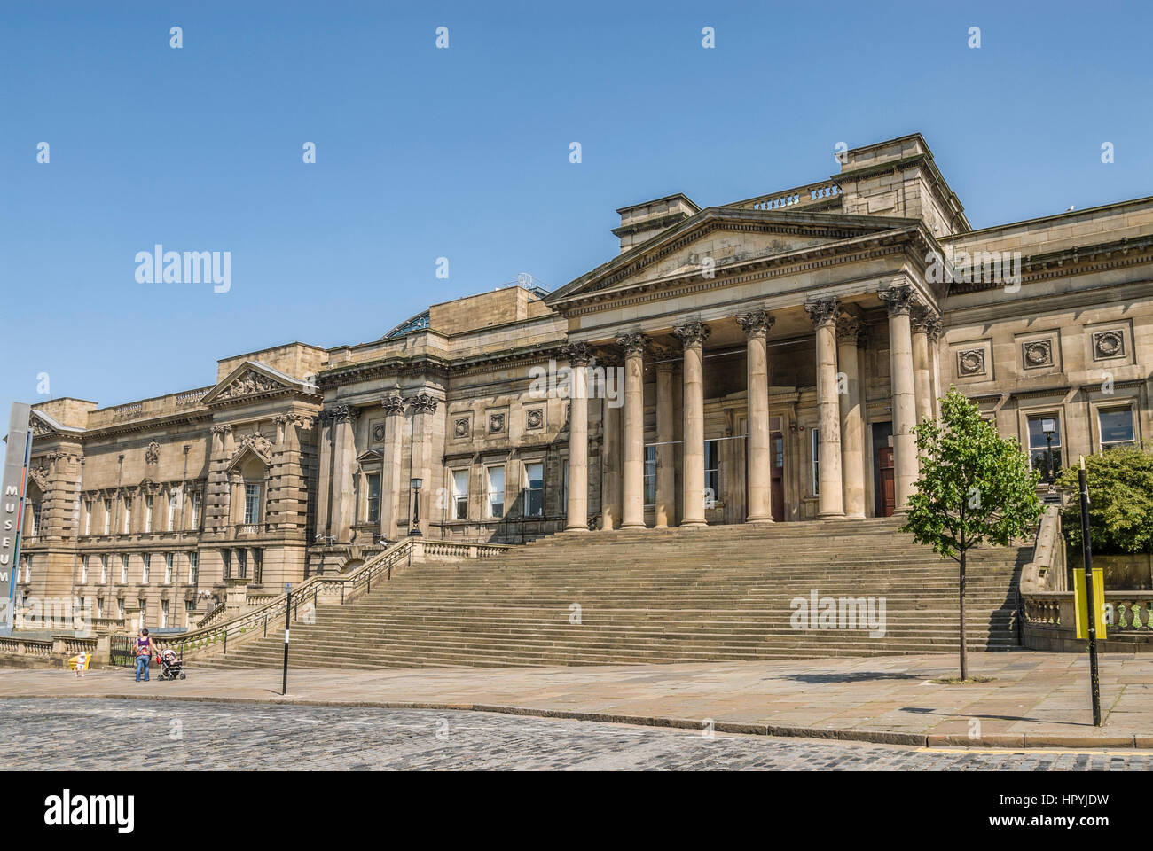 The Walker Art Gallery is an art gallery in Liverpool, which houses one of the largest art collections in England. - Stock Image