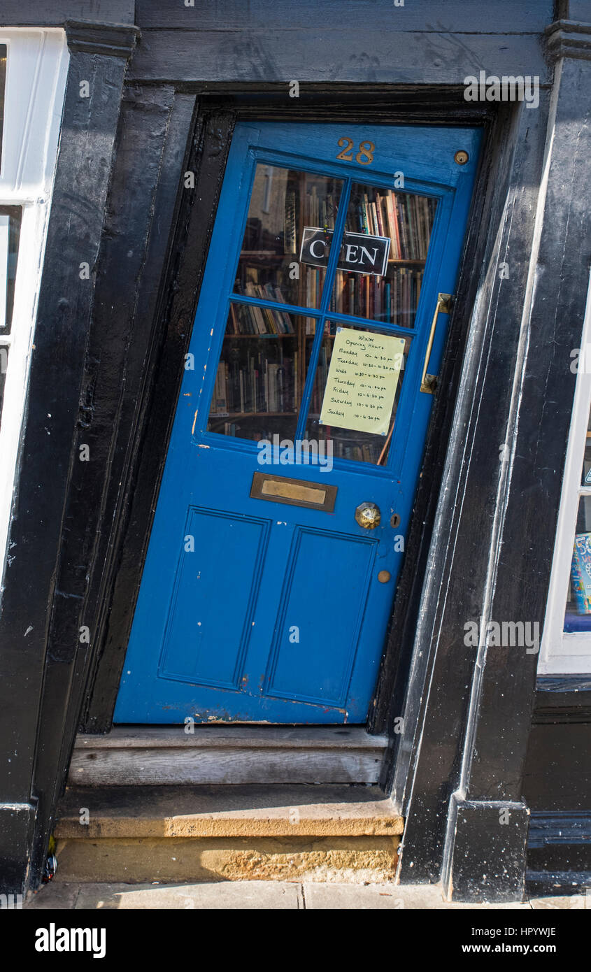 CANTERBURY UK - FEBRUARY 13TH 2017 A slanted door to a shop in the & Slanted Door Stock Photos u0026 Slanted Door Stock Images - Alamy