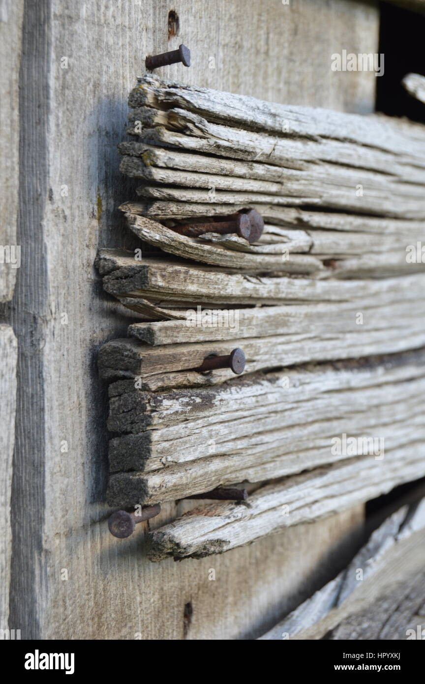 Barn Wood - Stock Image