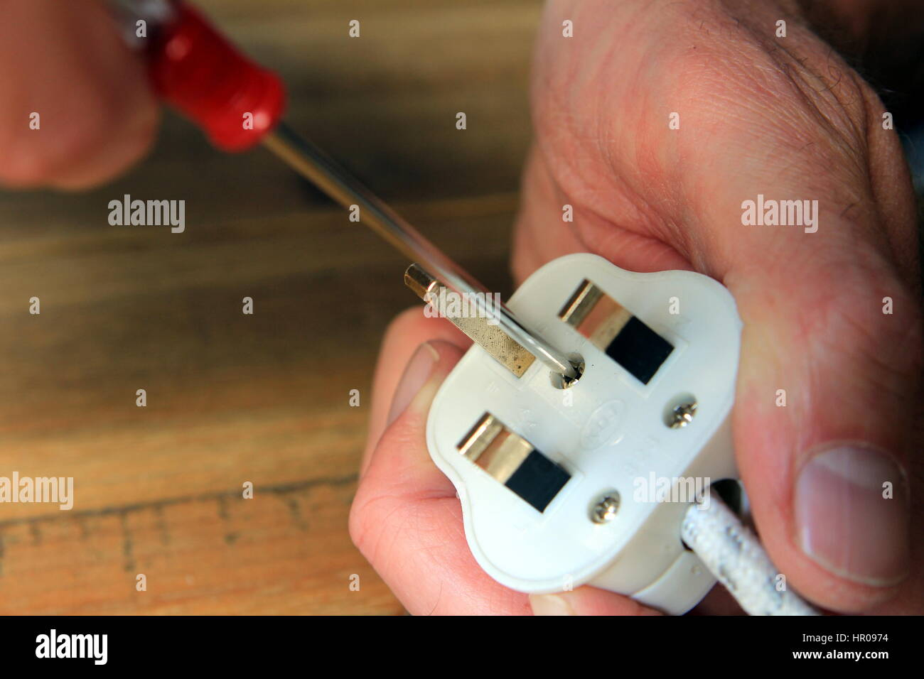 13 Amp Fuse Stock Photos Images Alamy Mcb Circuit Breakers To Replace Rewire Fuses Mini Trip Plug In Opening A Uk Domestic Electric Change The Image