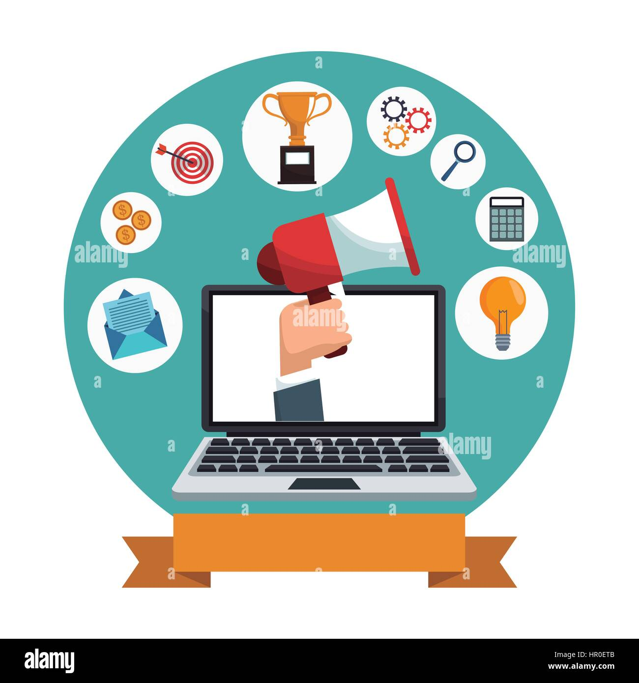digital marketing laptop social media icons stock vector image art alamy https www alamy com stock photo digital marketing laptop social media icons 134621323 html
