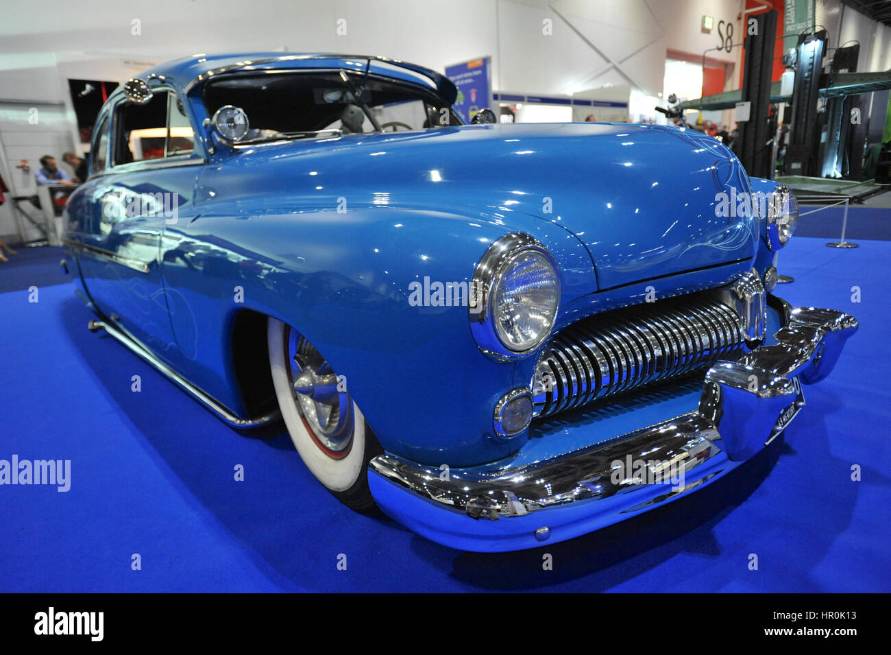1949 Mercury Stock Photos Images Alamy 1941 Flathead Engine A 42 V8 On Display At The London Classic Car Show Which Is
