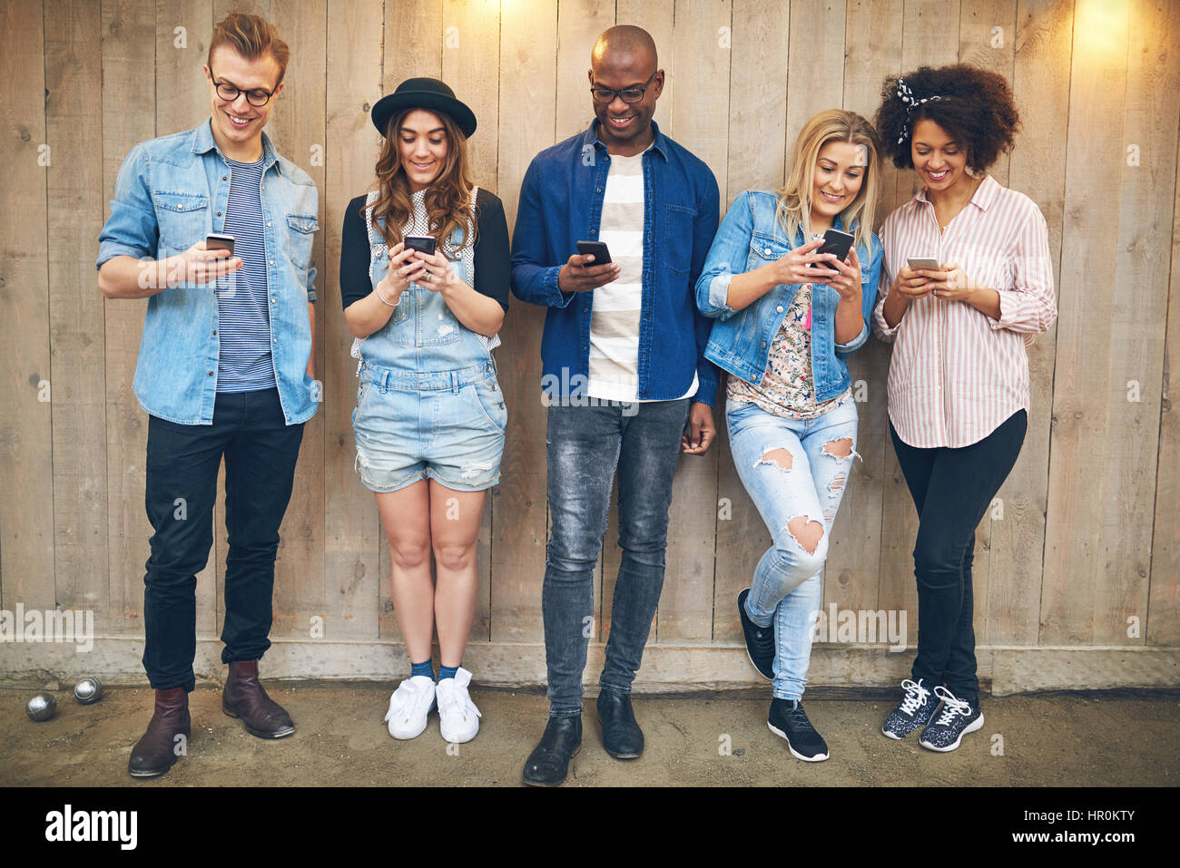 Group Of Young People At Party Or Meeting Wearing Casual Clothes Stock Photo 134625259 Alamy