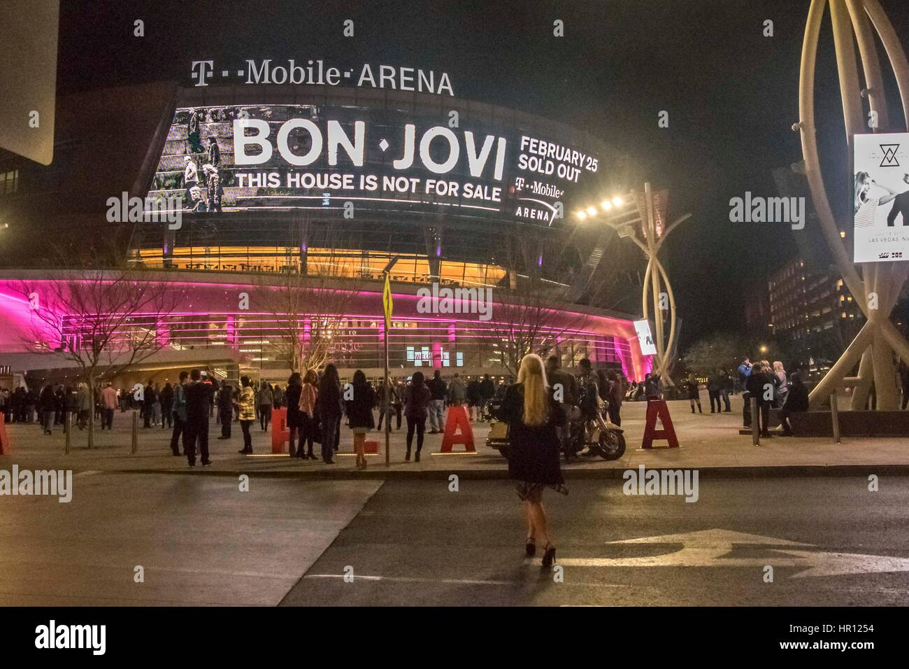 T Mobile Arena Stock Photos & T Mobile Arena Stock Images
