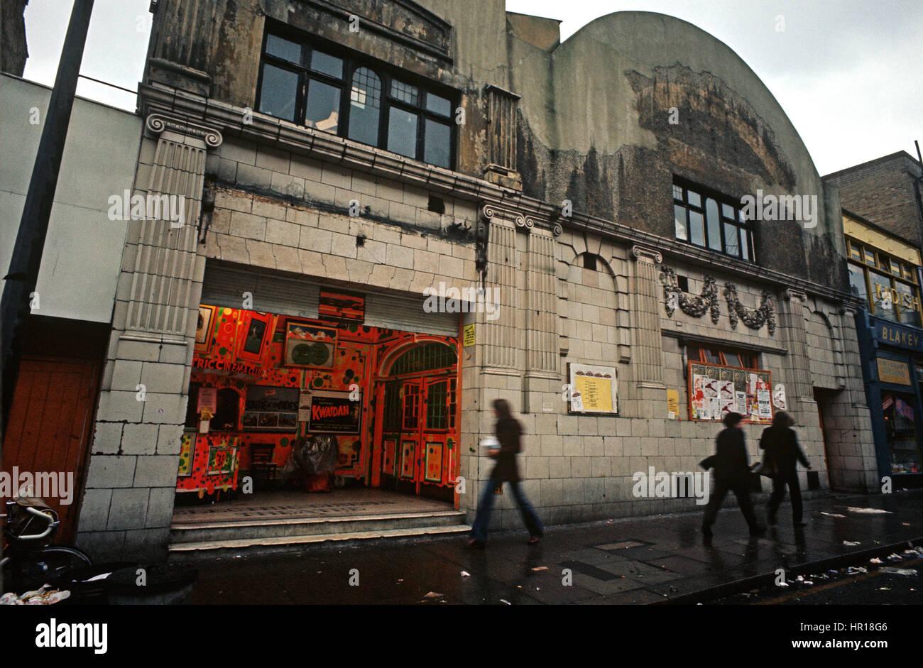 ELECTRIC CINEMA, PORTOBELLO, NOTTING HILL, NORTH KENSINGTON, LONDON, 1972 - Stock Image