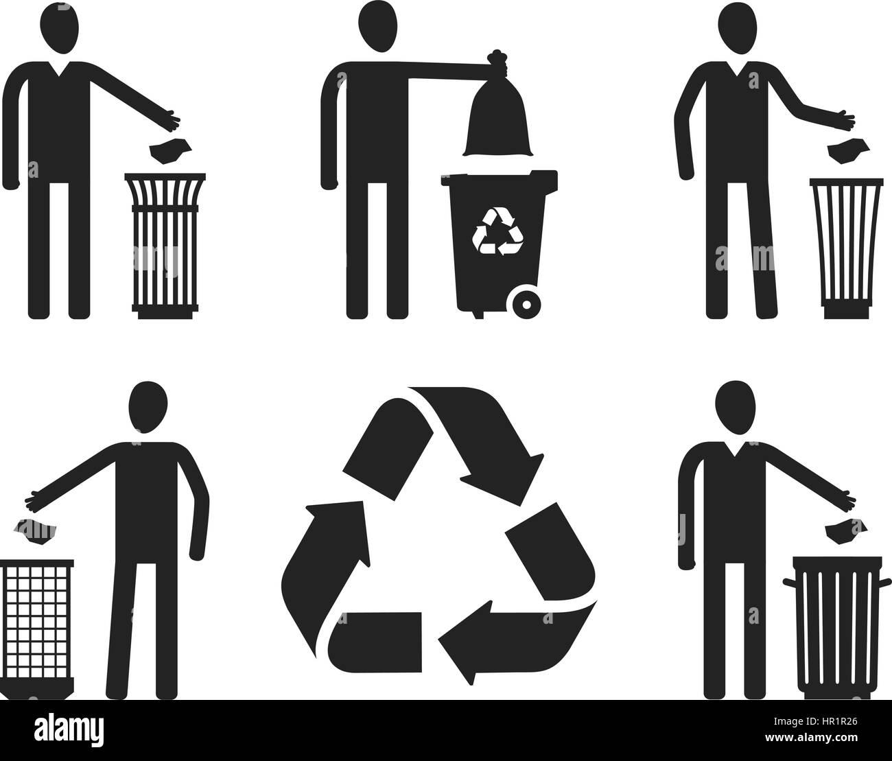 Recycling Symbols Stock Photos Recycling Symbols Stock Images Alamy