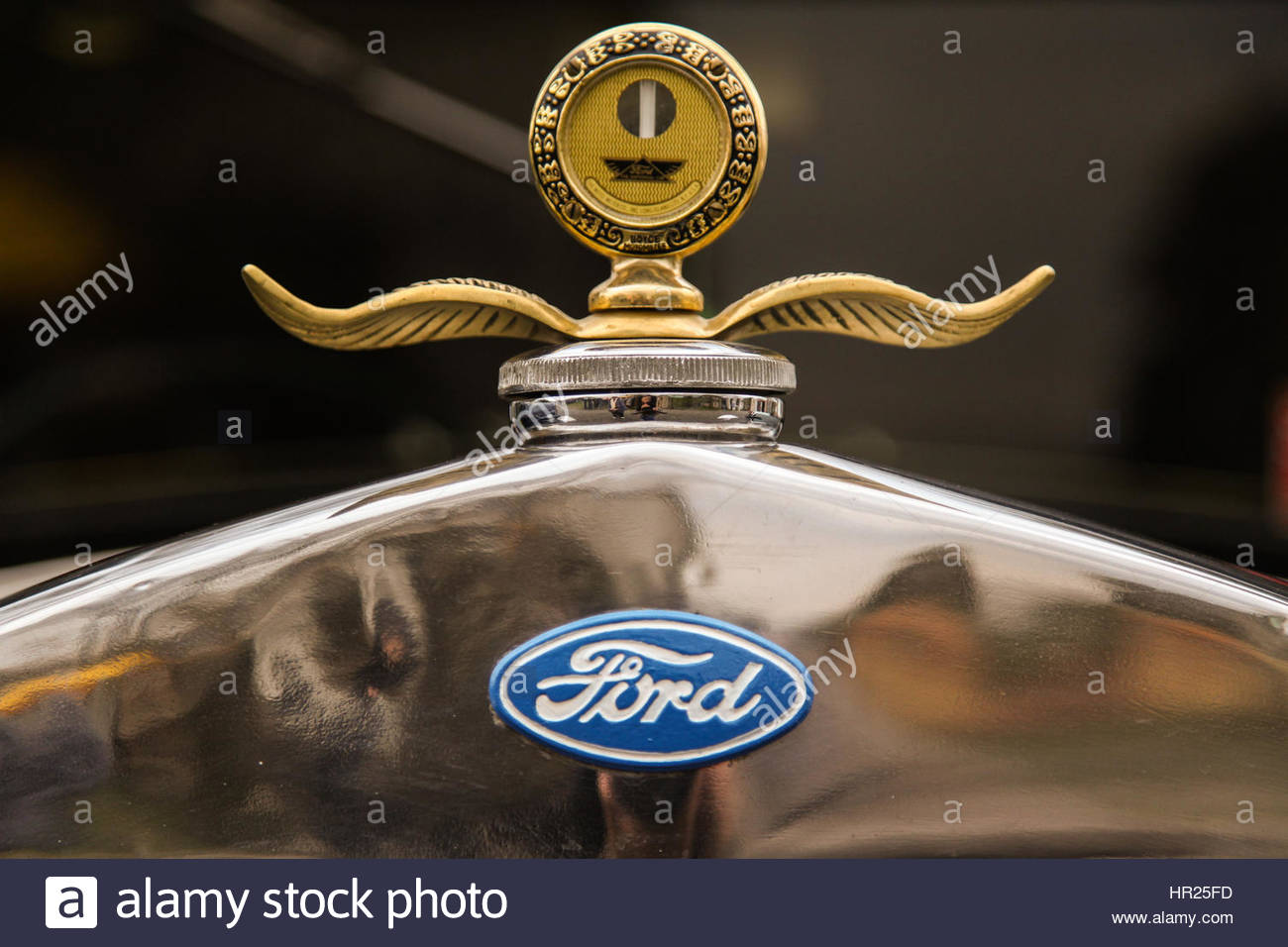 Old Ford detail - Stock Image