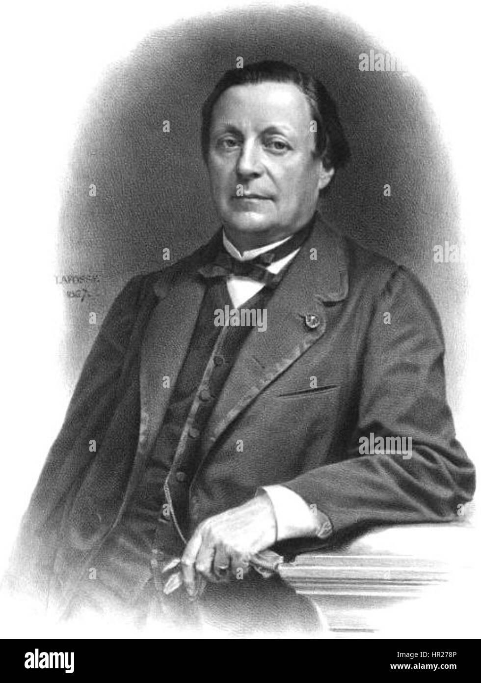 Nogent Saint Laurens, Edme Jean Joseph Jules Henri - Stock Image