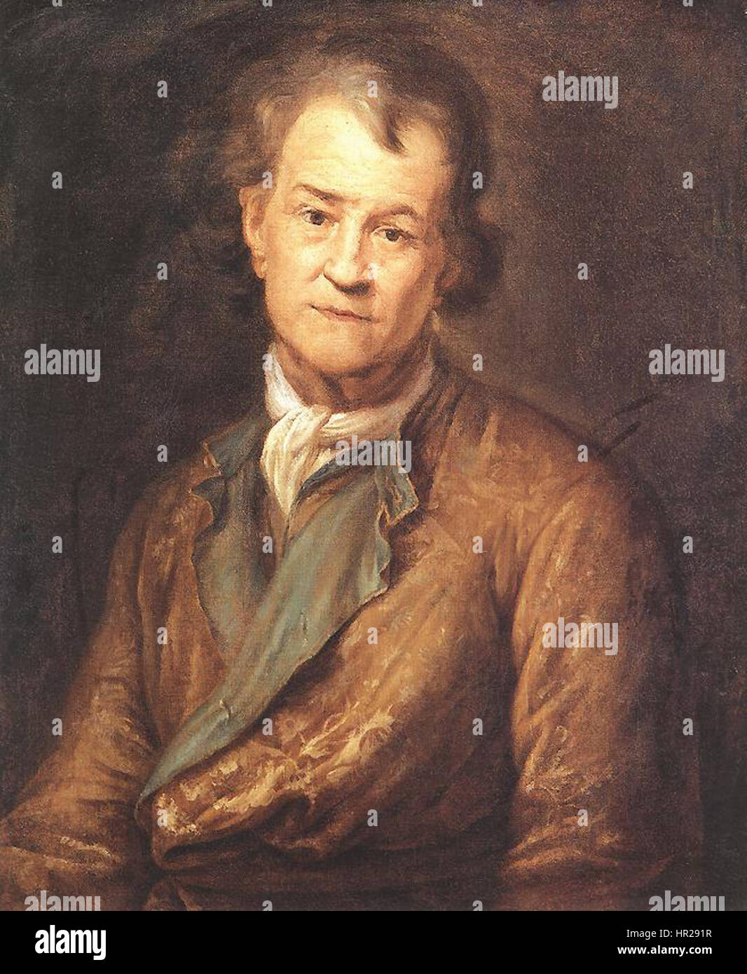 Pierre Puget - Self-portrait in Old Age - WGA18488 - Stock Image