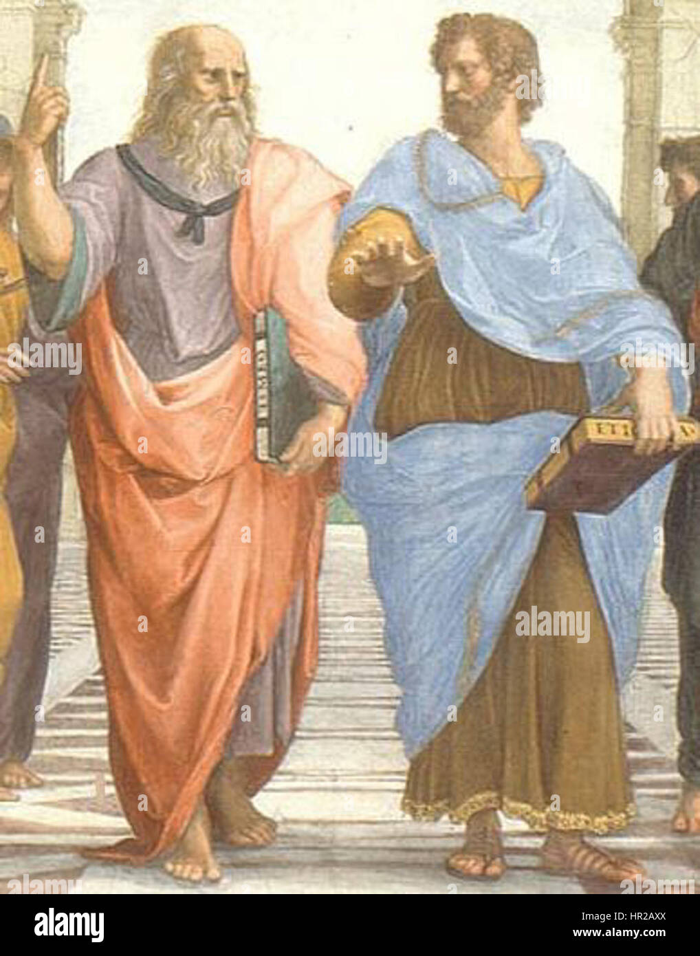 Plato And Aristotle In The School Of Athens By Italian