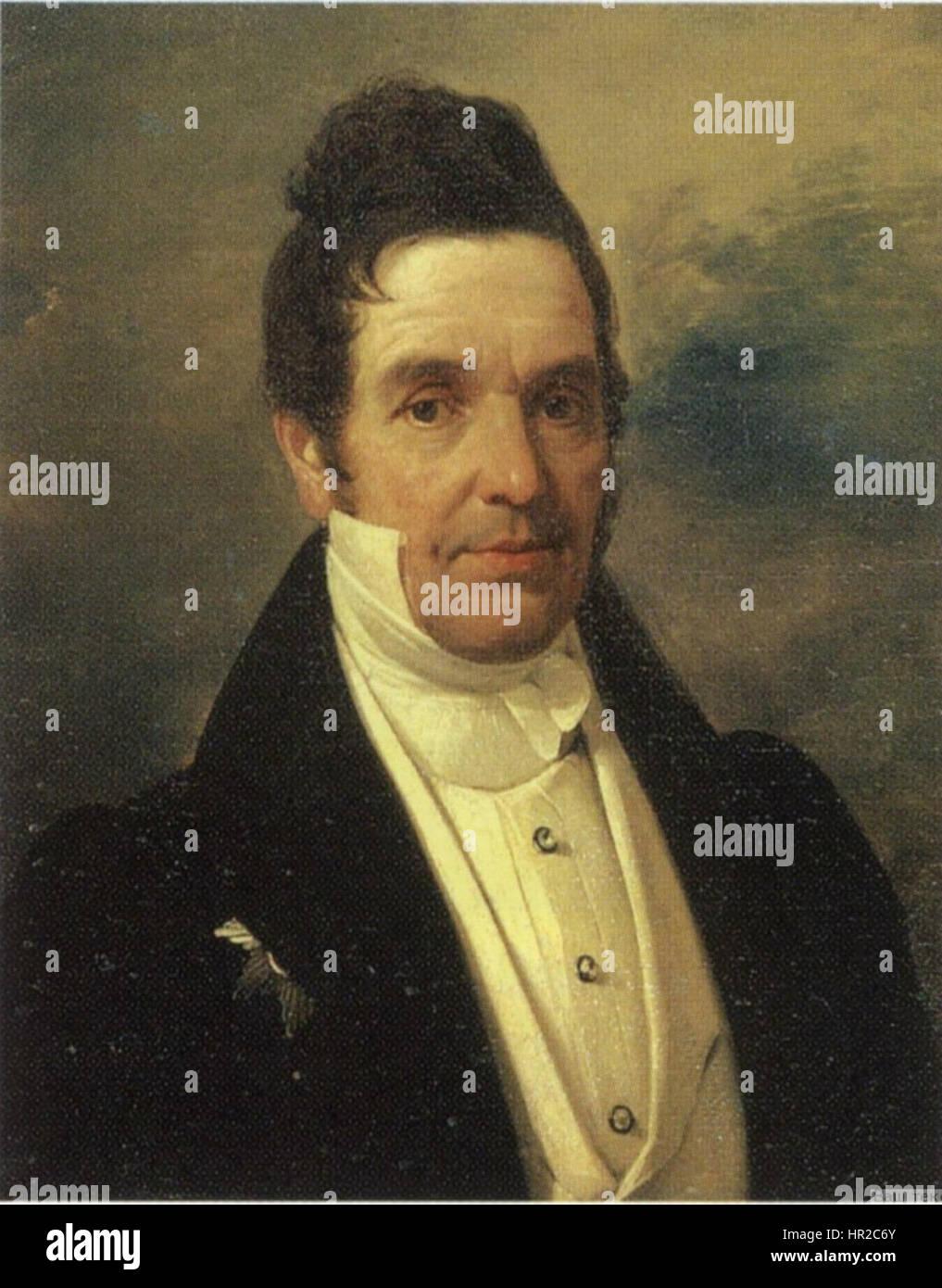 Portrait of Privy Councillor Timofei van der Flit - Stock Image