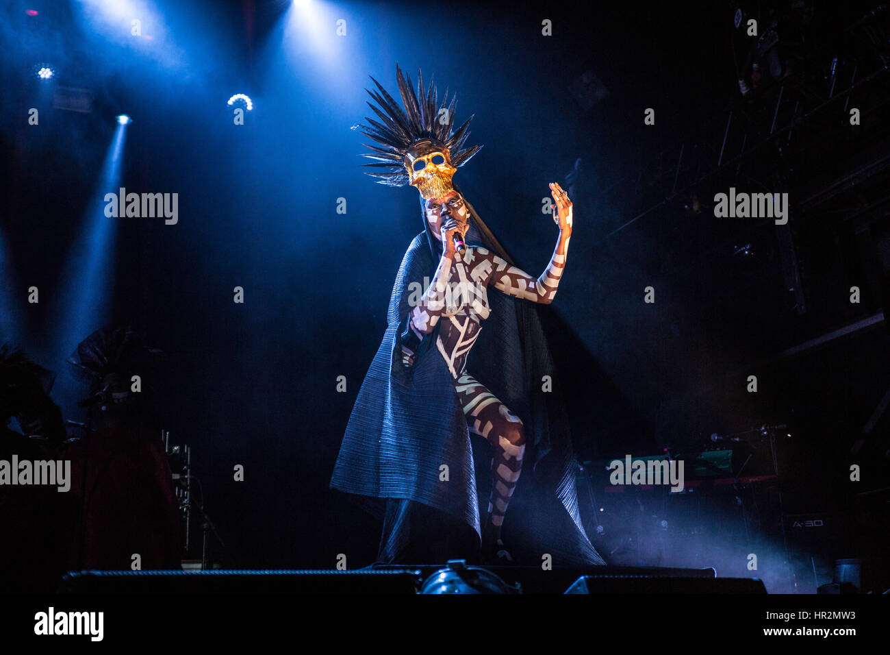 Grace Jones Performing Live At Festival No 6, Portmeirion, Wales, UK - Photo Credit Stock Photo